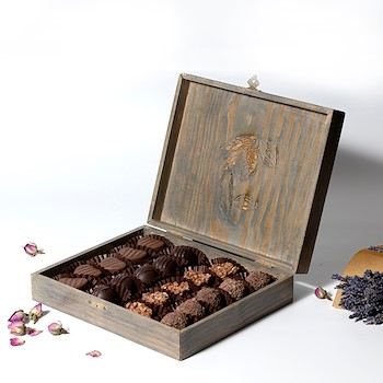 Chocolate Wood Box
