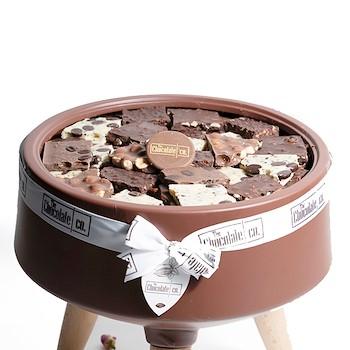 Maroon Chocolate Bowl
