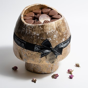 Chocolates Wood Bowl