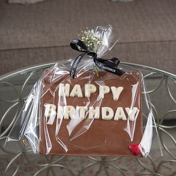 Chocolate Message Gift