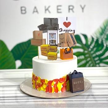 Shopaholic Cake