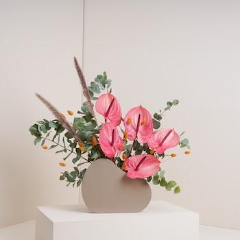 The Metal Vase
