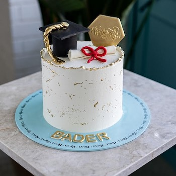 Graduation Achievement Cake
