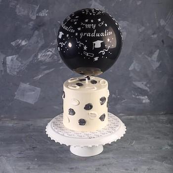Balloon Cake Graduation II