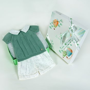 Knitted Green Set