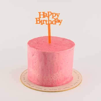 Neon Pink Cake