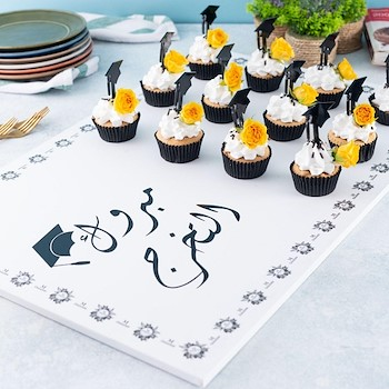 Graduation Board Cupcake