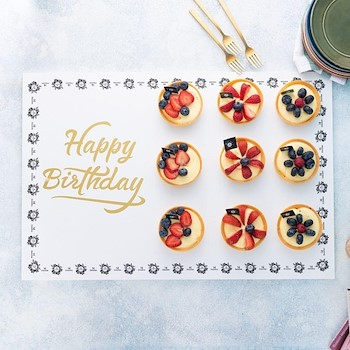Fruit Tart Cupcake