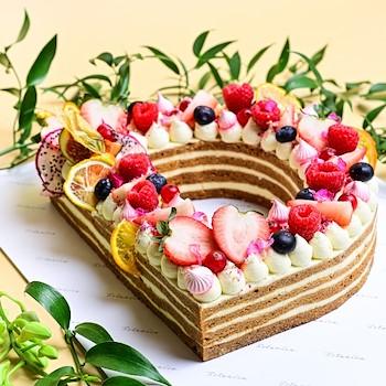 Honey Letter Cake