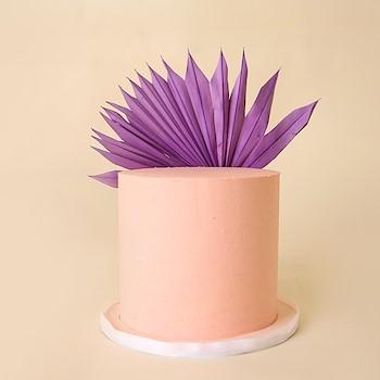 Purple Tropical Cake