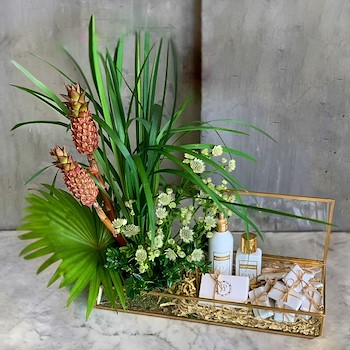Pineapple Glass Gift