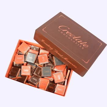 Thin Creolate Branded Chocolates