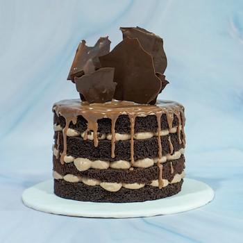 Dripping Chocolate Cake