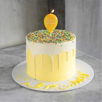 Sprinkle Cake Yellow