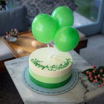Balloons Cake Green