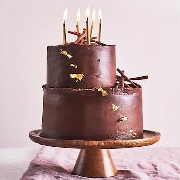Pecan Chocolate Cake