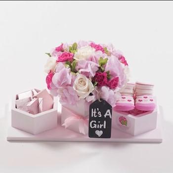 Pink Bloom Hex II
