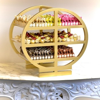 Chocolates Gold Stand