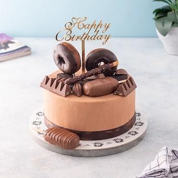 Browni Candy Cake