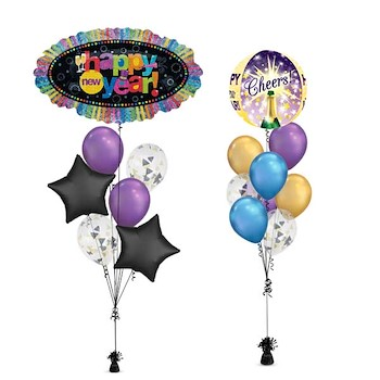 New Year Marquee Balloon
