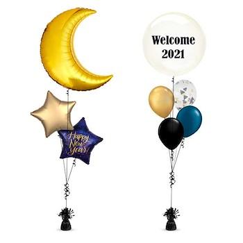 NY Moon Balloon