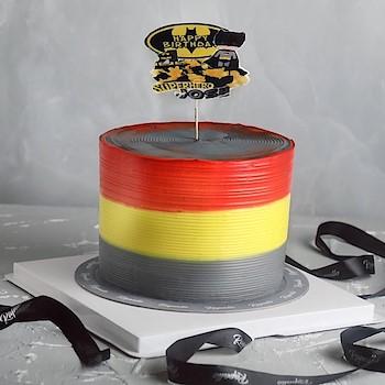 The Batman Cake 1