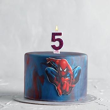 Spiderman Cake 1