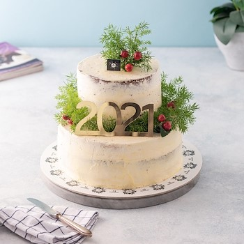 New Year Double Cake