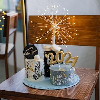 Trio 2021 Cake