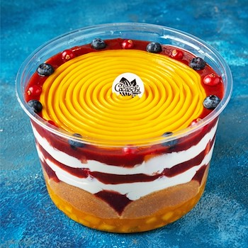 Mango & Berries Trifle