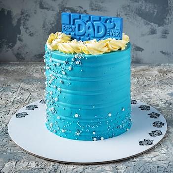 Blue Fantasy Cake