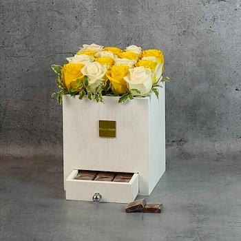 White Square Box 14