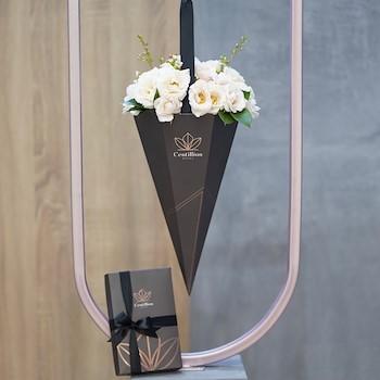 White Bouquet & Chocolate