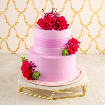 Willow Cake (Vanilla & Blueberry)