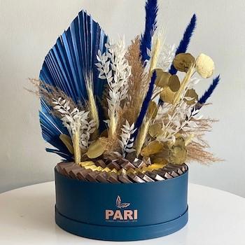 Signature Blue Fan