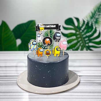 Among Us Cake 2