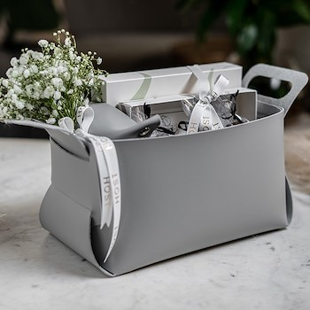 Leather Grey Set