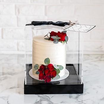 White Lora Cake 6