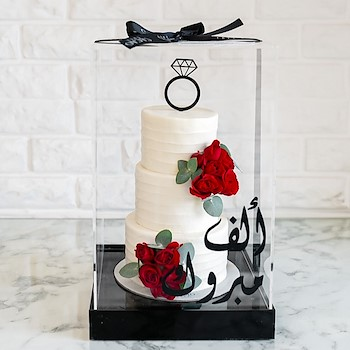 White Rubi Cake 4