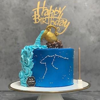 Aquarius Cake