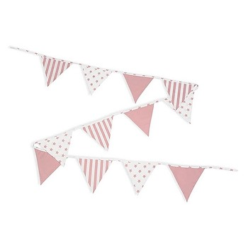 Personalized Bunting Pink