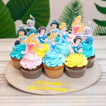 Princess Cupcakes 10