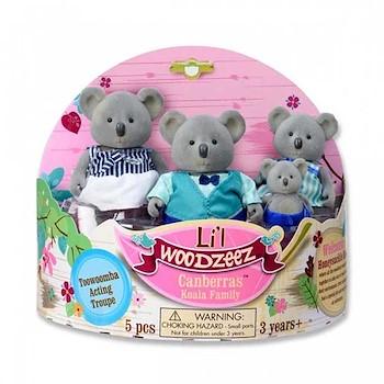 Woodzeez Koala Family