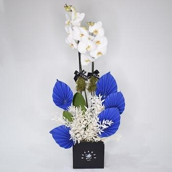 Blue Blissful Bouquet