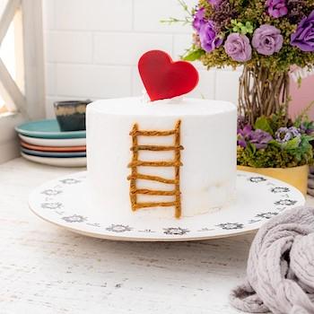 Boss Heart Cake