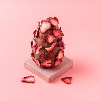 Strawberry Chocolate Egg