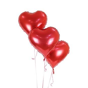 Plain Red Heart Shaped