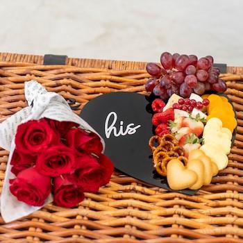 His Rose Platter