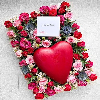 Heart Roses Field