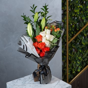 Orange Bouquet 2